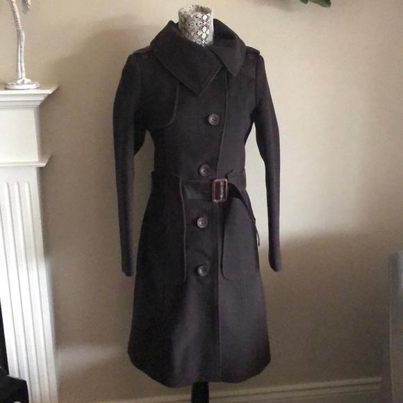 💫HOST PICK Mackage wool leather winter coat Small